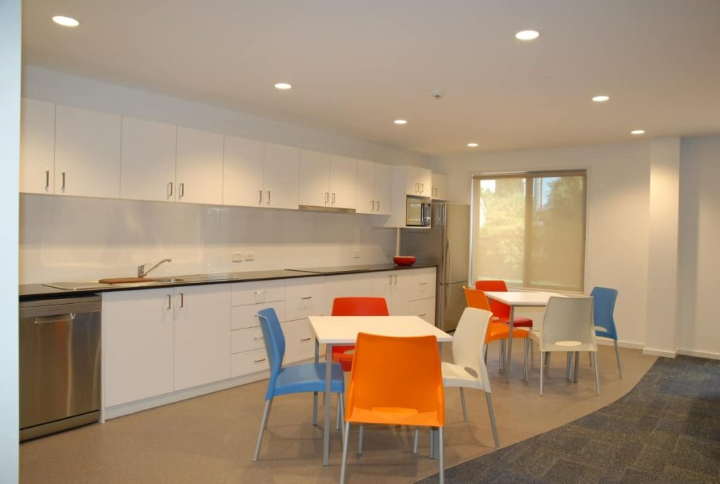 All Saints College Apartment Kitchen